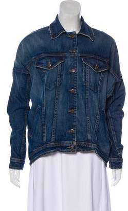 Joe's Jeans Oversize Dolman Sleeve Denim Jacket