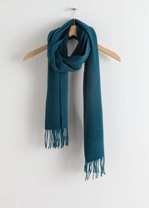 And other stories Slim Wool Scarf
