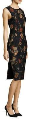 Prabal Gurung Floral Jacquard Sheath Dress