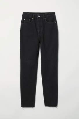 H&M Slim Mom Jeans - Black