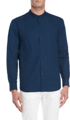 Steven Alan Forte Band Collar Sport Shirt