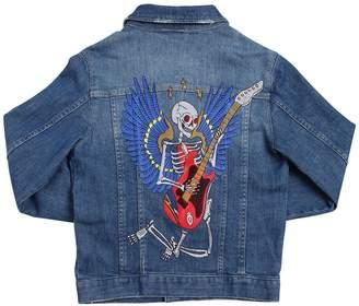 Zadig & Voltaire Skeleton Cotton Denim Jacket