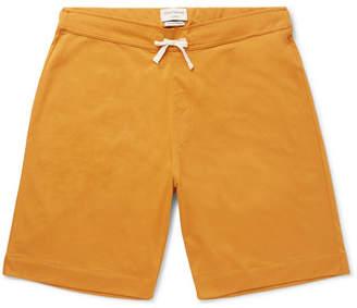 Oliver Spencer Loungewear York Supima Cotton-Jersey Pyjama Shorts