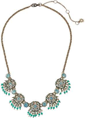 Marchesa Lighter Than Air 16 in Cluster Frontal Round Embellishment Necklace