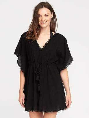 Embroidered Gauze Kaftan for Women $26.99 thestylecure.com
