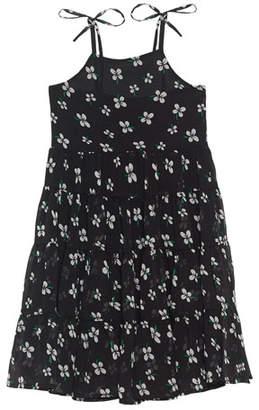 Bardot Junior Flo Tiered Tie-Shoulder Dress, Size 8-16