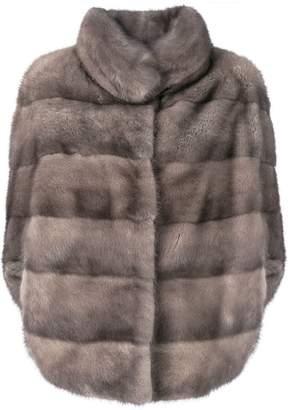 Liska Romea slit sleeves fur jacket