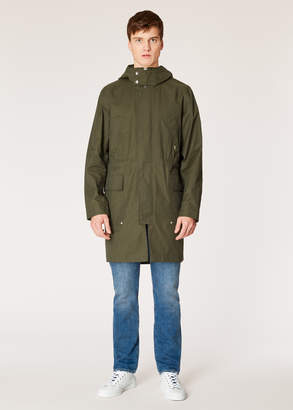 Paul Smith Men's Dark Green 2-In-1 Cotton-Blend Parka