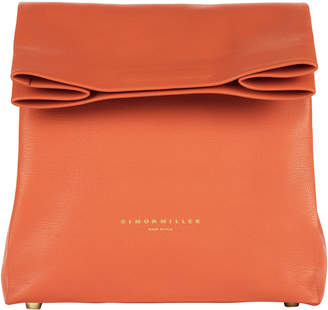 Simon Miller Foldover Mango Leather Lunchbag