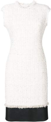 Alexander McQueen Soft Tweed Midi dress