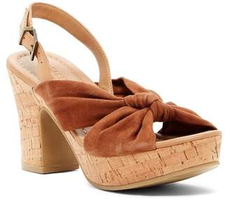 Kenneth Cole Reaction Tole Booth Suede Platform Slingback