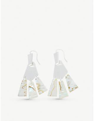 Kendra Scott Rechelle silver-plated drop earrings