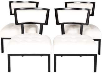 Set of 4 Tufted Dining Chairs