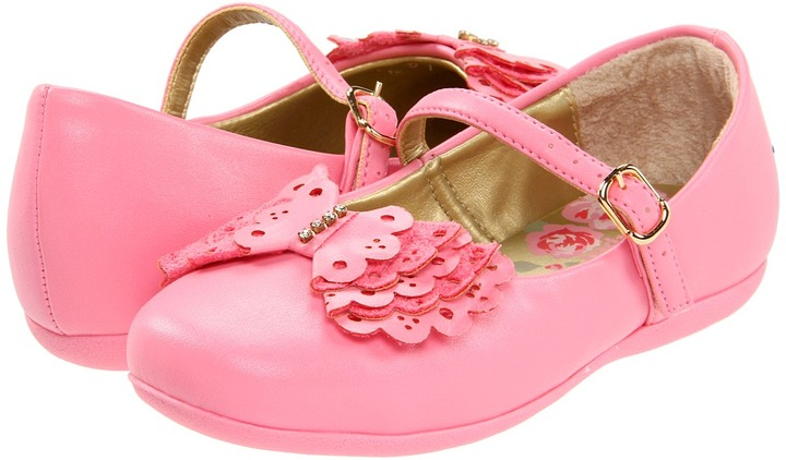 Pampili Bailarina 4 (Infant/Toddler) (Rose) - Footwear