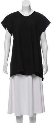 Ellery Short Sleeve Silk Top w/ Tags