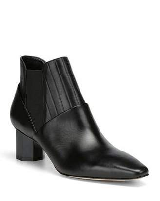 Donald J Pliner Fate Leather Gored Booties
