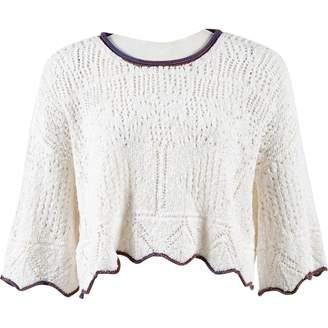 Derek Lam White Cashmere Knitwear