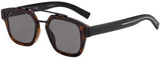 Christian Dior Men's Square Metal-Trim Sunglasses