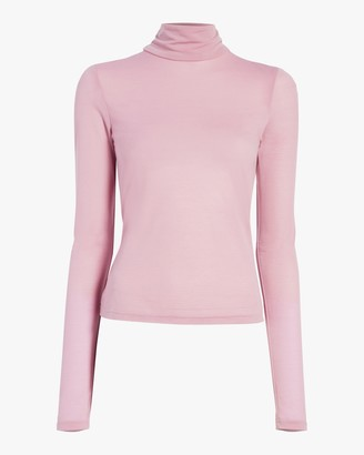 Arias Flared Turtleneck Top