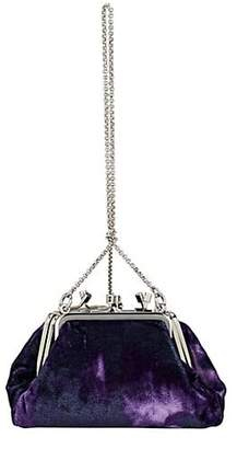 Altuzarra Women's Kiss Small Velvet Bag - Purple