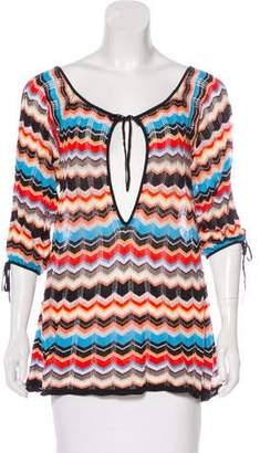 LaROK Open Shoulder Knit Sweater