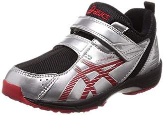 Asics (アシックス) - [アシックス スクスク] 運動靴 TOPSPEED MINI-zero 2 キッズ シルバー/レッド 21.5 cm