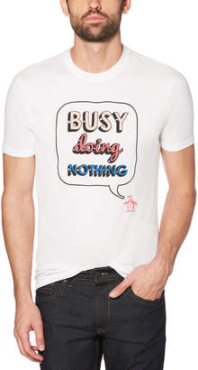 Original Penguin BUSY DOING NOTHING TEE