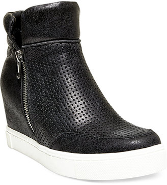 Steve Madden Women's Linqsp Wedge Sneakers $89 thestylecure.com