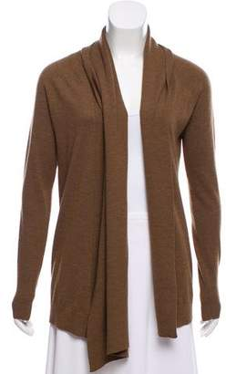 Theory Wool Open-Front Cardigan