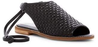 Kelsi Dagger Brooklyn Stockholm Woven Leather Sandal