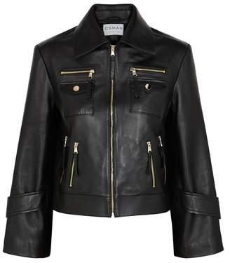 Osman Cooper Black Leather Jacket