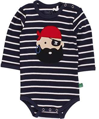 Green Cotton Fred's World by Baby Sailor Stripe Pirate Body Bodysuit