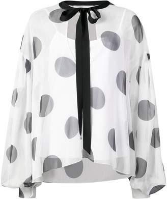 Sachin + Babi Delia polka-dot blouse