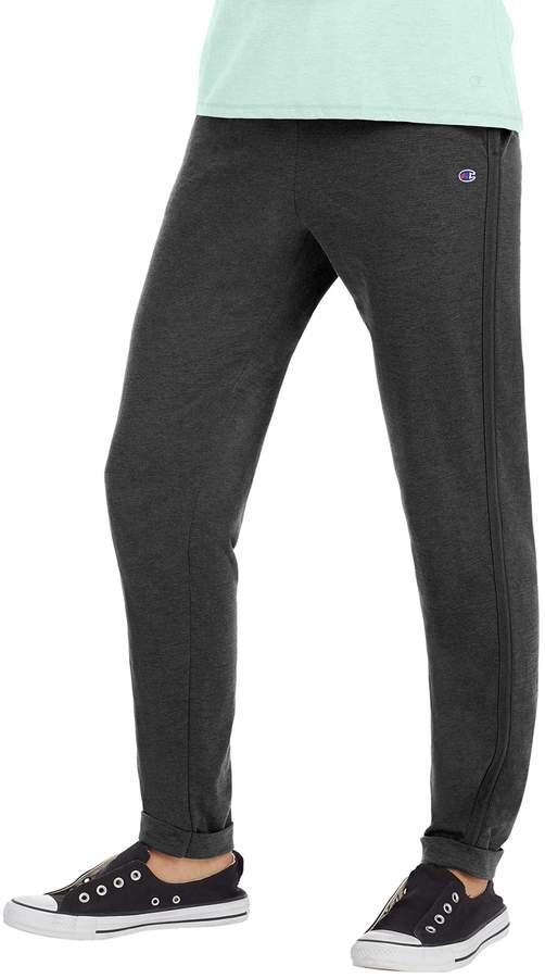 Women's Champion Heathered Jersey Jogger Sweatpants