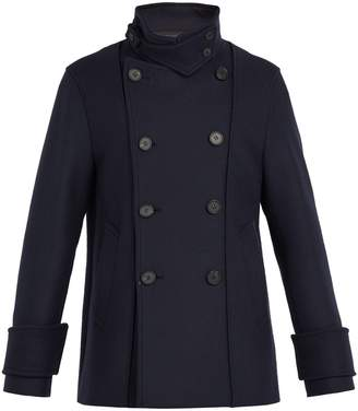 Wooyoungmi Double-breasted wool-blend peacoat