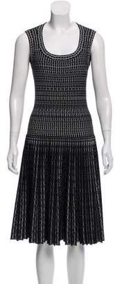 Alaia Wool A-Line Dress