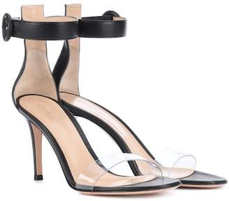 Gianvito Rossi Portofino 85 leather sandals