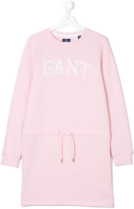 Gant Kids TEEN drawstring sweater dress