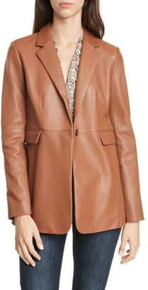 Lewit Leather Blazer