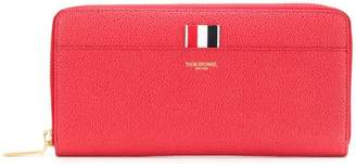Thom Browne pebbled logo wallet