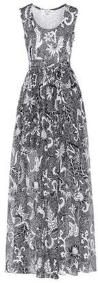 Diane von Furstenberg Serret paisley cotton and silk dress
