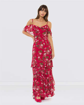 Alannah Hill A Rose To Be Maxi Dress