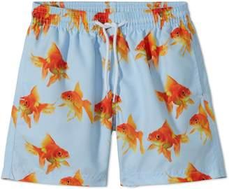 Stella Cove Goldfish Print Swim Trunks