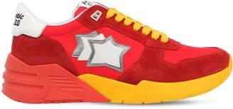 Mars Suede & Nylon Running Sneakers