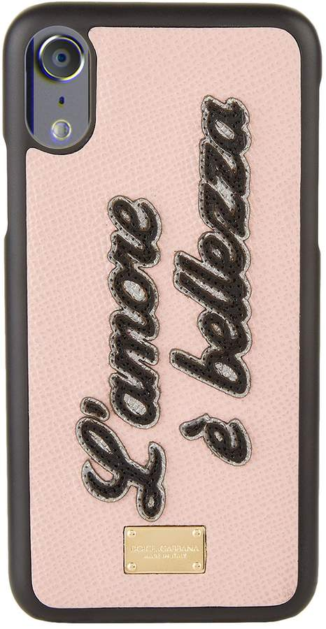 Dolce & Gabbana Slogan iPhone X Phone Case