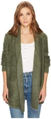 BB Dakota Marcela Eyelash Cardigan Women's Sweater