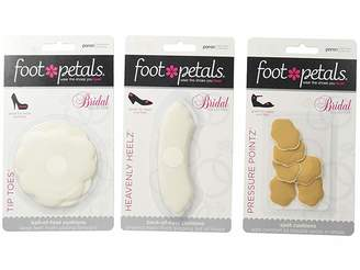 Foot Petals Wedding Day Collection - Tip Toes, Heavenly Heelz, Pressure Points