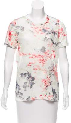 Prabal Gurung Floral Print Crew Neck T-Shirt