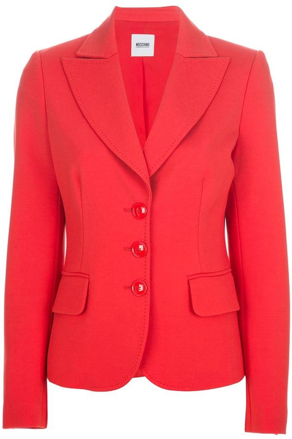 Moschino Cheap & Chic bright blazer