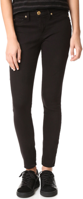 True Religion Jennie Curvy Mid Rise Super Skinny Jeans $189 thestylecure.com